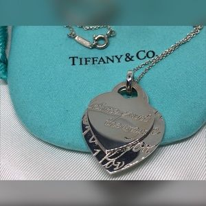 "Tiffany ""Let Me Count the Ways"" EUC 925 Necklace"